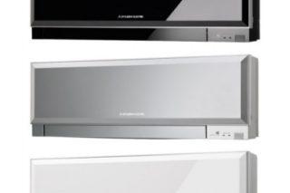 climatisation reversible design MITSUBISHI electric MSZ-EF25VES