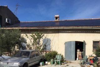 centrale photovoltaïque 9kWc à Maillane