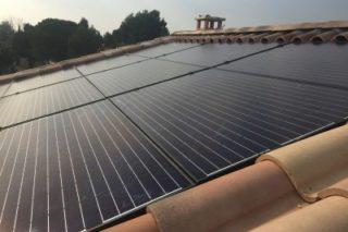 panneaux photovoltaïque 3kWc  CLIPSOL GDF SUEZ