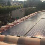centrale photovoltaïque intégré au bati