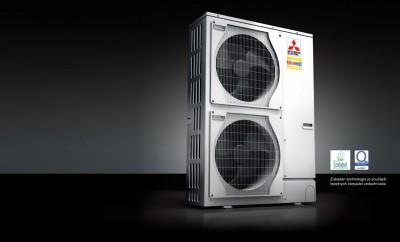 pompe chaleur air eau mitsubishi electric h li o. Black Bedroom Furniture Sets. Home Design Ideas