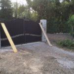 Pose clôture et portail avec piliers à Gignac-la-Nerthe