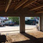 Construction d'un garage double à Vitrolles